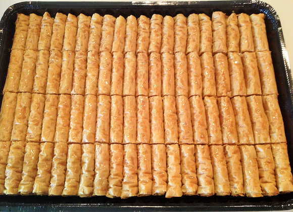 Baklawa Fingers (Asabe) Large Tray
