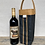 Thumbnail: black cocktail tote with natural trim