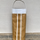 Thumbnail: natural cocktail tote with white trim