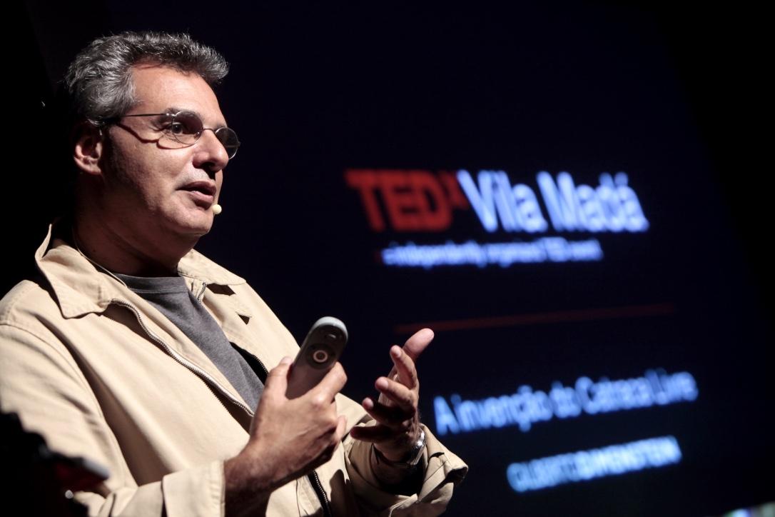Gilberto Dimenstein no TEDxVilaMadá