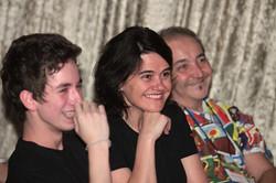 Com Wellington Nogueira e Luiz Ballas no TEDxVilaMadá