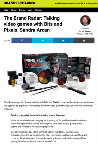 Talking video games with Bits and Pixels' Sandra Arcan