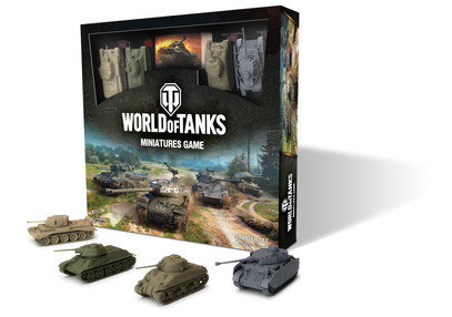 World of Tanks Boardgame by Battlefront