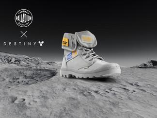 Exploring the World Beyond The Game: BITS + PIXELS Reveal Palladium x Destiny Footwear Collaboration