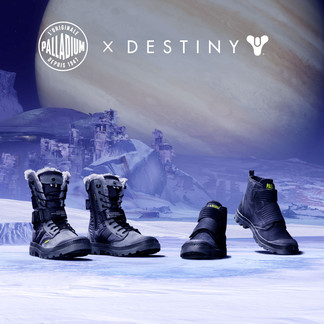 Second Drop of Palladium x Destiny Boots Sees Guardians Journey to Europa