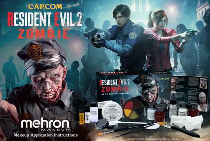 Mehron x Resident Evil 2 collaboration
