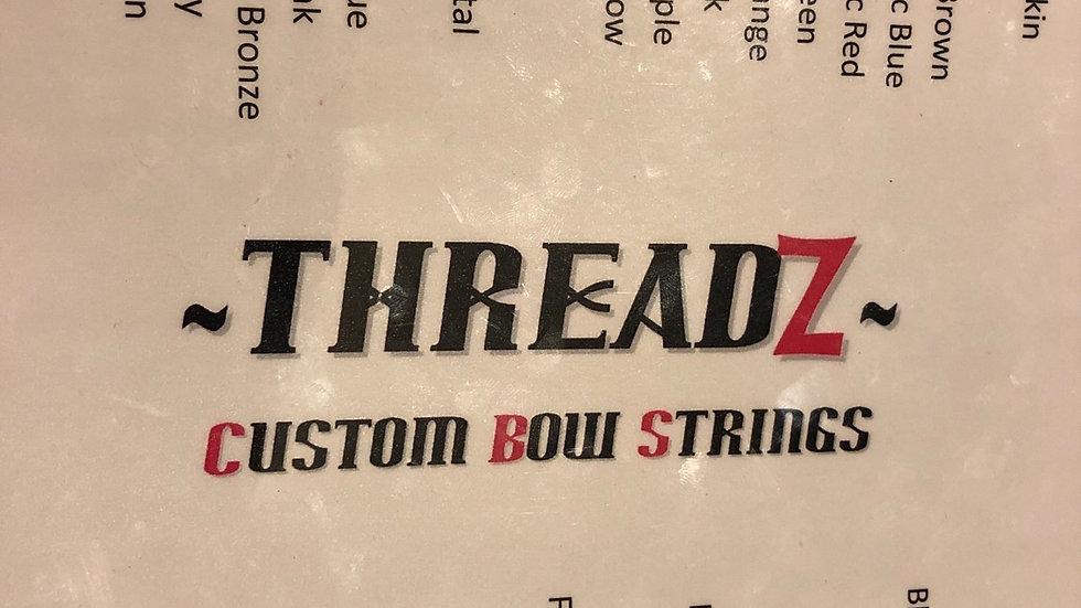 Threadz custom bow strings