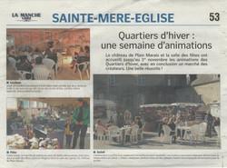 La Presse de la Manche 07-11-2015