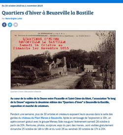 2015-10-29 France Bleu Lecture a voix ha