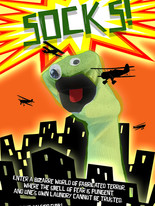 SOCKS! Mock-up poster