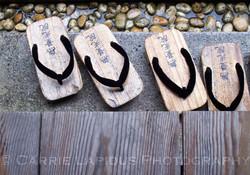 Koya-San, Monk's Geta