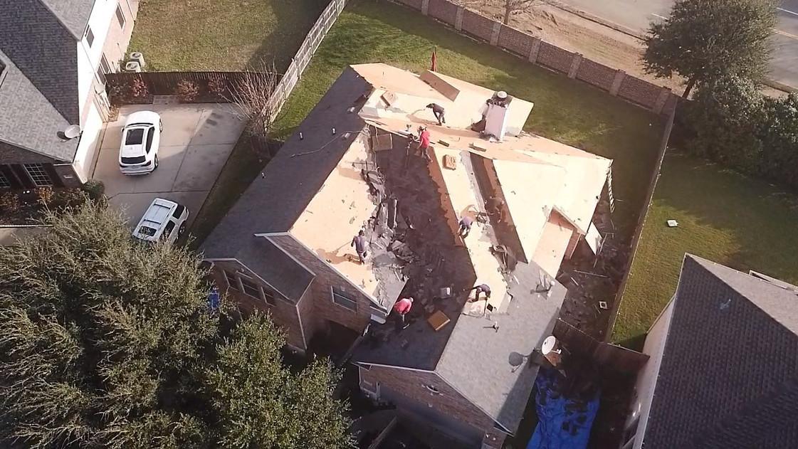 roof installation companies in Dallas