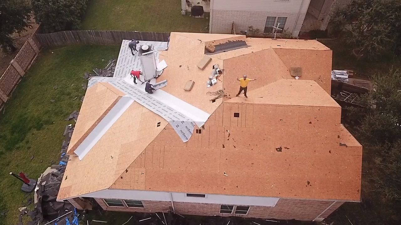 best roof repair and installation company Dallas