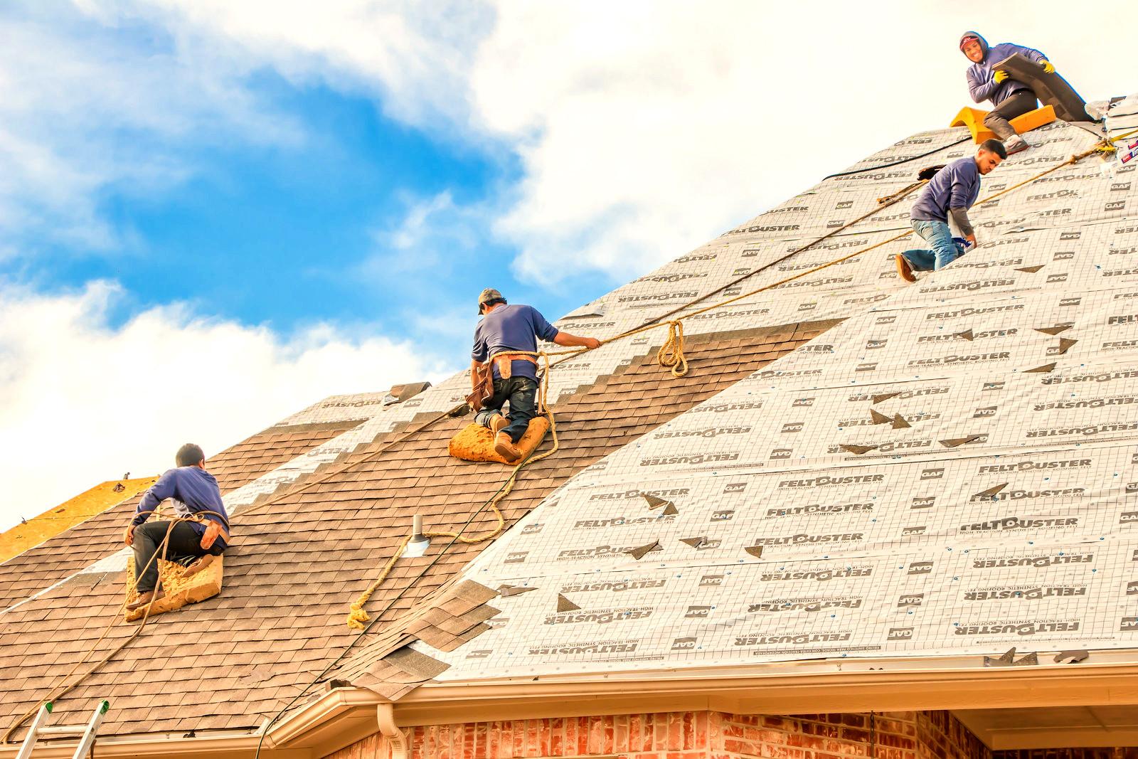 Roof Repair - Leaking Roof - Shingle Rep