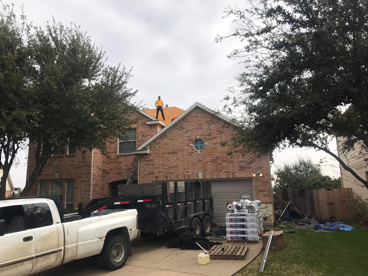roof inspection Dallas
