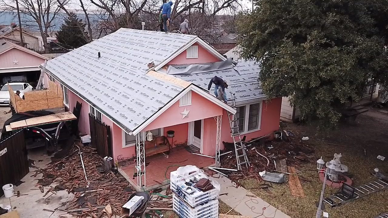 Roofing companies in Dallas