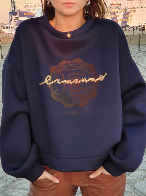 SWEAT-SHIRT ERMANNO SCERVINO