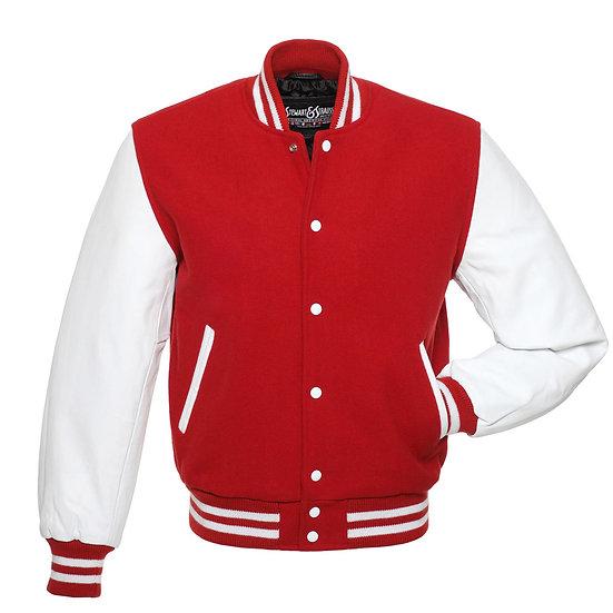 Varsity Jacket red