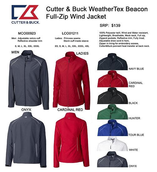 C-BUK Weatherflex Beacon Full-Zip Wind Jacket