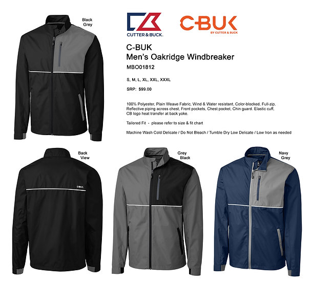 C-BUK Oakridge Windbreaker