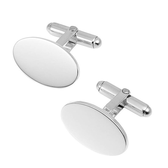Original Personalised Oval Cufflinks