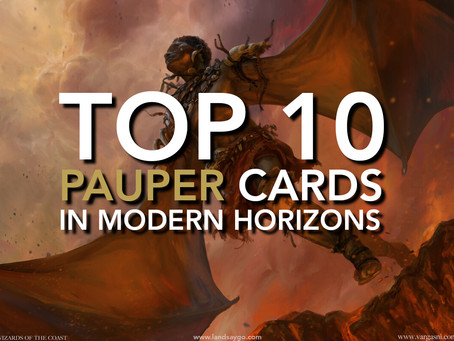 Top 10 Pauper Cards from Modern Horizons