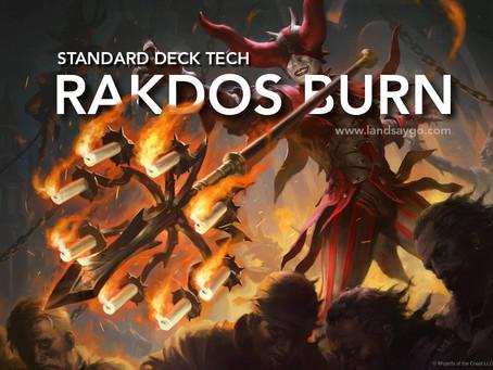 Rakdos Burn - Standard