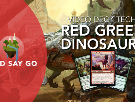 RG Dinosaurs - Video Deck Tech