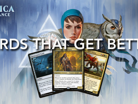 Cards Getting Better with Ravnica Allegiance