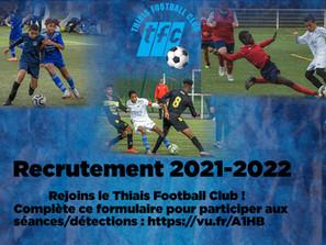Recrutement 2021-2022