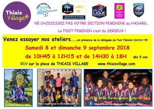 8 & 9 septembre Thiais Village