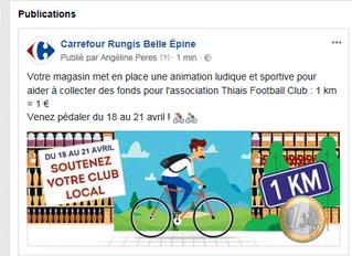 Avec Carrefour Belle Epine du 18 au 21 avril