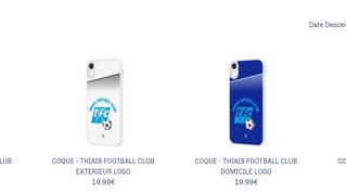 Offrez-vous une coque de téléphone aux couleurs de votre club