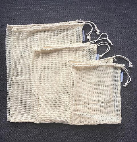 Cotton Mesh Bags
