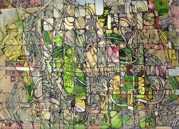 Into the jungle,collage,25/30cm,2008