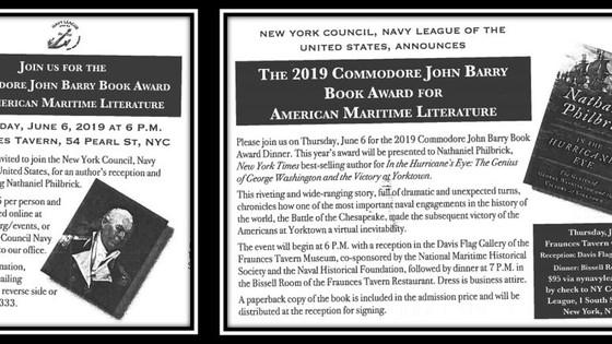 Barry Book Award