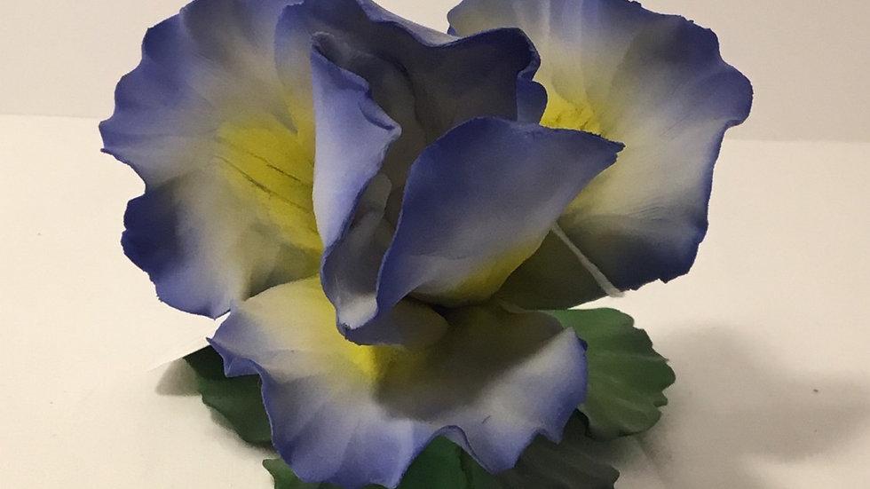 Fabar Capodimonte Porcelain Flower