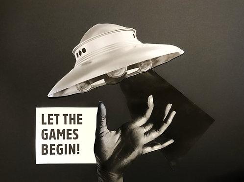 | LET THE GAMES BEGIN! |