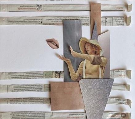 | ...DI OPINIONE | Collage| 50 x 35 cm | by OCCO 2020