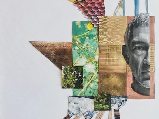 | ECCE HOMO | Dittico | Collage |2 _ 100 x 70 cm | by OCCO 2020