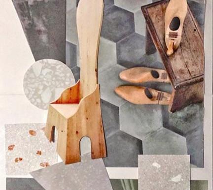| ALTROVE | Collage | 50 x 35 cm | by OCCO