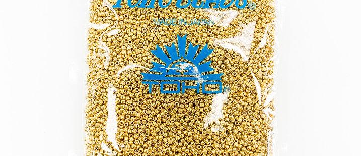 Permacolour Galvanized Starlight Gold Toho Seed Beads