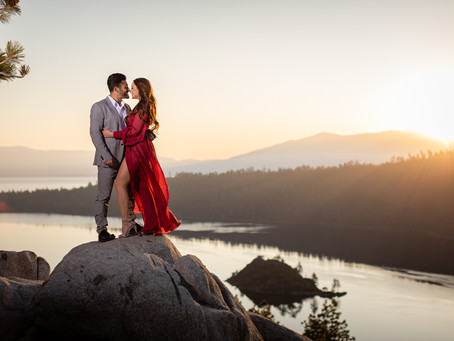 Engagement: Emerald Bay Sunrise