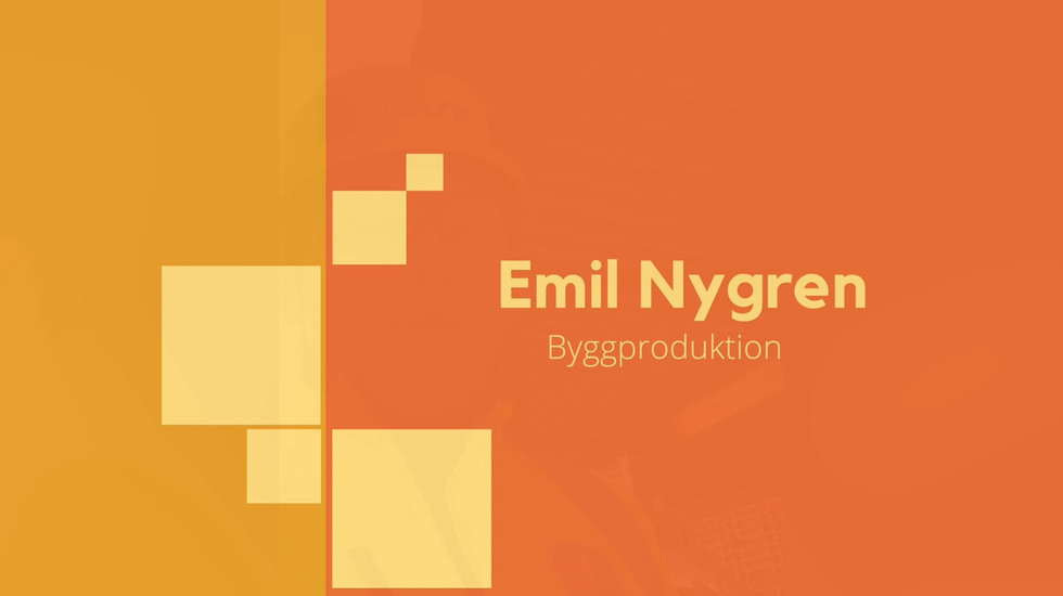 Emli Nygren - Byggproduktion.mov