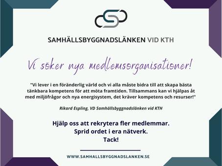 Hjälp oss att bli fler!