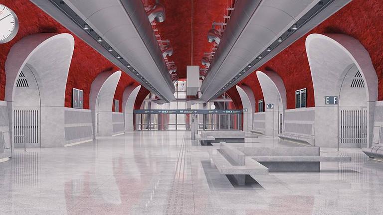 Slussens nya bussterminal