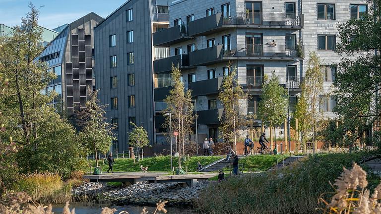 Arkitektur- och konstvandring i Norra Djurgårdsstaden