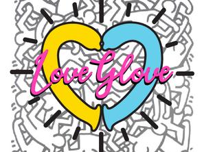 Love Glove Sticker