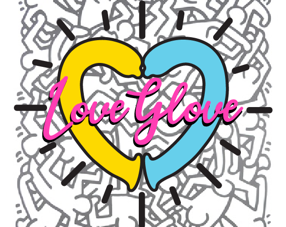 Love Glove Sticker