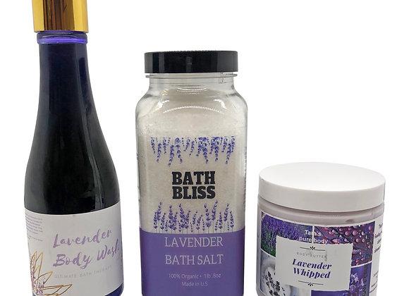Lavender Bath Kit